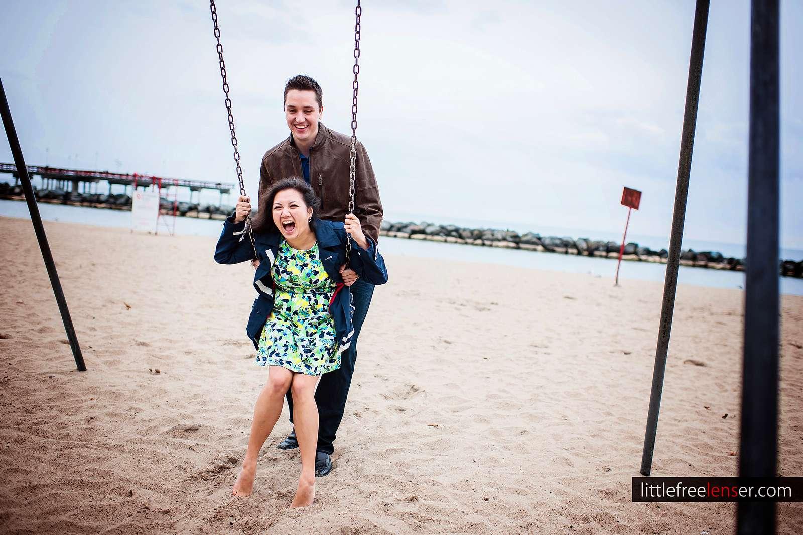Lorraine & Jordan | Engagement Session | Toronto Island